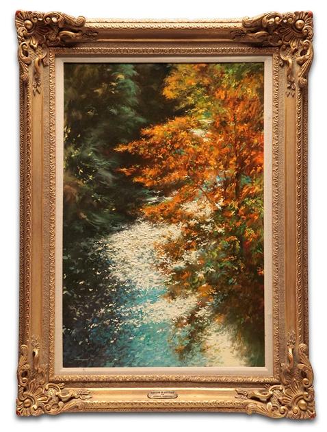 Rapids in Autumn