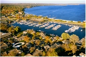 "Fine Art Prints - ""Aerial of The Abbey Harbor"" - Fontana, Wisconsin"