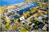"Fine Art Prints - ""Aerial of The Abbey Resort and Harbor"" - Fontana, Wisconsin"